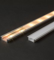 LED hliníkový profil lišta 2000 x 23(17) x 8 mm