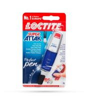 LOCTITE Super Attak Perfect Pen gél lepidlo - 3g