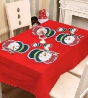 Podložka pod tanier a pohár - snehuliak - 8 ks / balenie