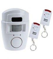 Detektor pohybu s diaľkovým ovládaním a integrovaným alarmom