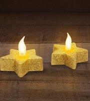 LED čajová sviečka 2 ks / blister