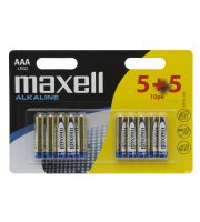 Mikro tužková batéria  5+5 ks/blister