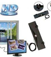 Izbová anténa pre príjem HD vysielania