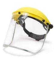 Ochranný štít na tvár z plexi