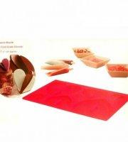 Forma na čokoládu srdce 3D