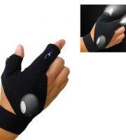 Montážna rukavica s LED svetlom