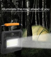 Akumulátorový prenosný LED reflektor 50 W
