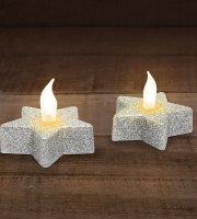 LED čajové sviečky 2 ks / balenie