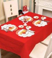 Podložka pod tanier a pohár - s mikulášom - 8 ks