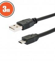 USB kábel 2.0 3 m