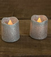 LED sviečka 2 ks / blister