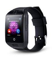 Q18 inteligentné hodinky - čierne