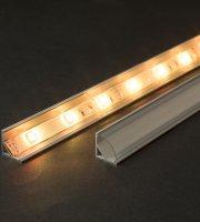 Kryt LED hliníkového profilu lišty 2000 mm
