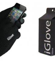 IGLOVE rukavice pre ovládanie dotykových zariadení čierne