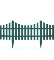 Okraj záhonu / plôtik 60 x 23 cm - zelený
