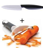 Keramický nôž a škrabka