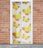 Sieťka proti hmyzu na dvere  Žlté motýle