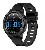 L8 inteligentné hodinky čierne