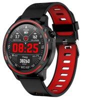 L8 inteligentné hodinky červené
