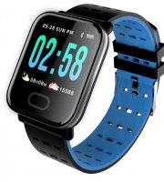 Smart A6 hodinky modré