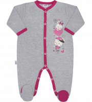 Detský  overal New Baby Love Mouse - 56 (0-3m)