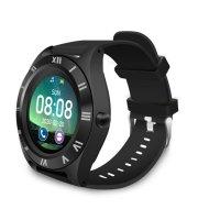 M11 inteligentné hodinky s čiernym remienkom