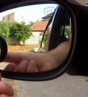 Zrkadielka do spätných zrkadiel na mŕtvy uhol 2 ks