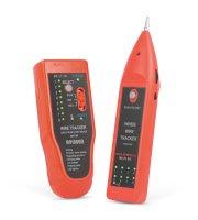 Vyhľadávač káblových párov so zvukovou signalizáciou, LED - RJ45 testerom káblov
