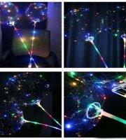 Svietiaci LED balón