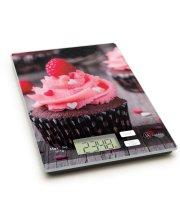 Kuchynská váha - ružový muffin