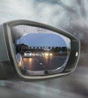 Vodoodpudivá fólia na spätné zrkadlo - 2 ks / balenie