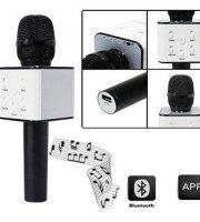 Karaoke mikrofón s integrovaným reproduktorom