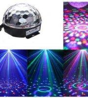 Bluetooth LED disco guľa