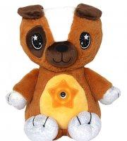 Star Belly - Plyšový psík s hviezdnym projektorom