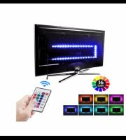USB RGB podsvietenie pre TV s diaľkovým ovládaním