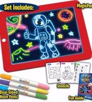 Magická svetelná kresliaca tabuľka