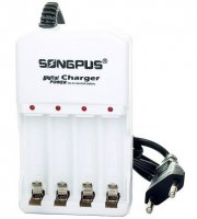 Songpus - Nabíjačka na 4 batérie, s ochranou proti prebitiu