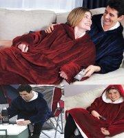 Huggle Hoodie - Mäkučká deka a sveter v jednom