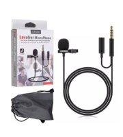 Pripínací mikrofón so vstupom 3,5 mm jack, Micro USB / Type C / Lightning