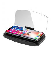 HUD displej pre smartfóny s nabíjaním NFC - premietnite svoj telefón na priehľadný displej!