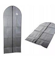 Obal na šaty a oblek, šedý 60x100 cm