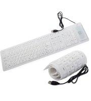 Skladacia silikónová klávesnica