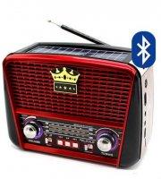 Solárne Bluetooth prenosné rádio MP3, USB, FM, RX-BT455S