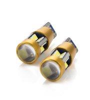 LED žiarovka  - CAN130 - T10 (W5W) - 300 lm - can-bus - SMD - 5W - 2 ks / balenie