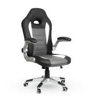 Gamer stolička - so  sklápateľnou opierkou rúk