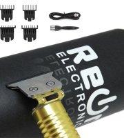 REON - Akumulátorový zastrihávač vlasov so 4 hlavami v darčekovej krabičke