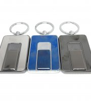 Nabíjací USB zapaľovač-kľúčenka s 1 krúžkom v darčekovej krabičke