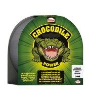Pattex Crocodile lepiaca páska - strieborná - 20 m