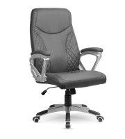 Prémiová kancelárska stolička - sivá