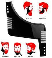 Hrebeň na tvarovanie fúzov a brady